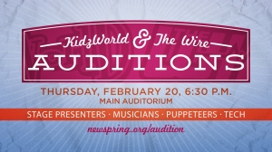 KidzWorld_Auditions